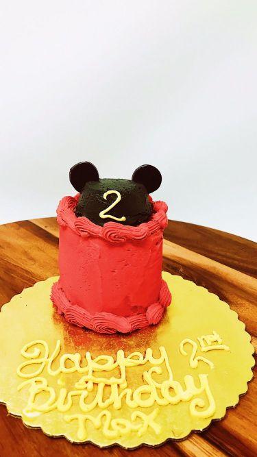 Mouse Ears Cake