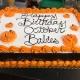 Pumpkin Art Cake